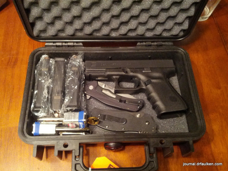 How I checked my pistol on an airline flight