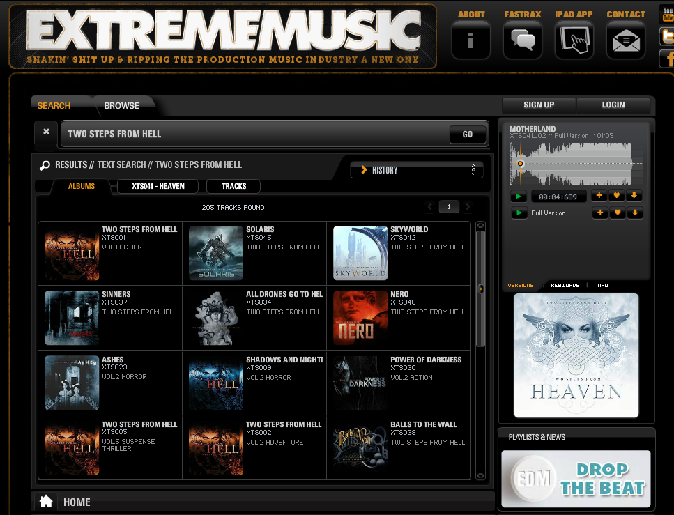 FireShot Pro Screen Capture #013 - 'Extreme Music' - www_extrememusic_com