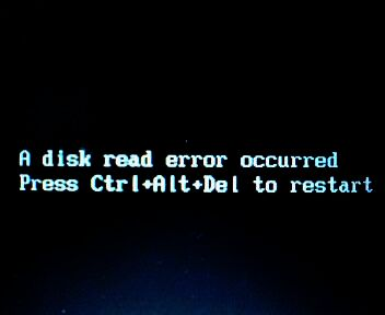 How I Fixed a Disk Read Error in Windows 7