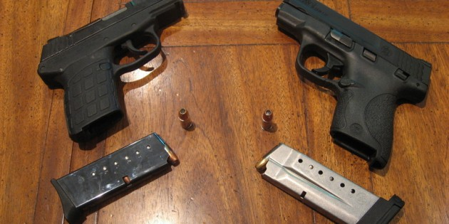 Smith and Wesson M&P Shield vs Kel-Tec PF-9 Pistol Comparison