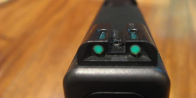 Truglo TFO Trijicon and Fiber Optic Sights for Glock Review