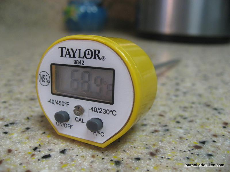 Taylor 9842 Commercial Waterproof Digital Thermometer Review