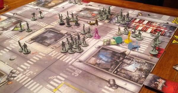 Zombicide: Season 2 Cooperative Zombie Boardgame Kickstarter