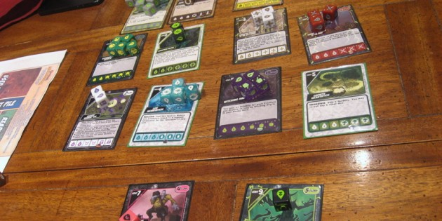 Quarriors Dice Game Review