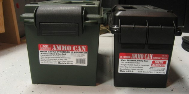 MTM AC11 Heavy Duty Plastic Lockable Ammo Storage Can Review