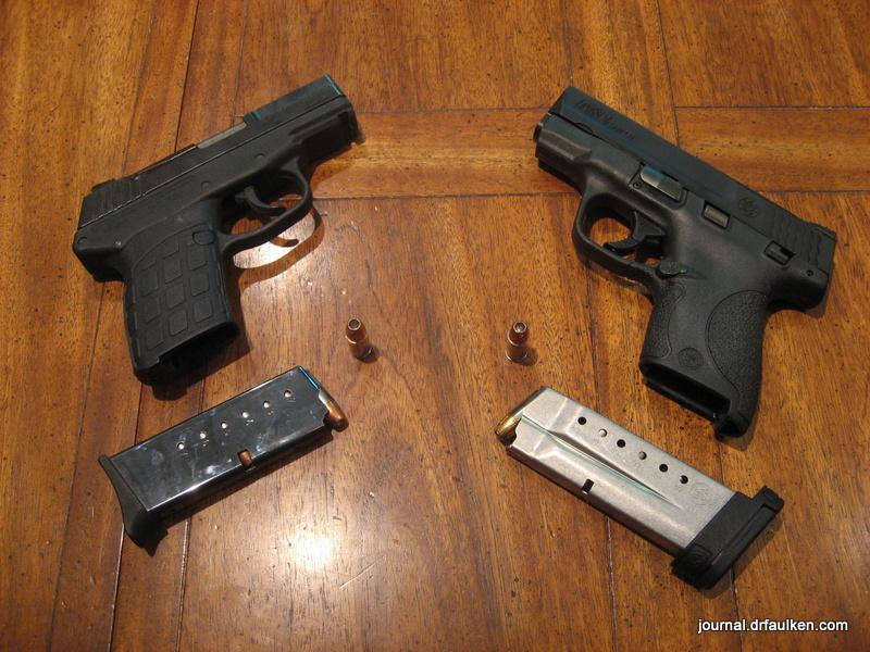 Smith and Wesson M&P Shield vs Kel-Tec PF-9 Pistol