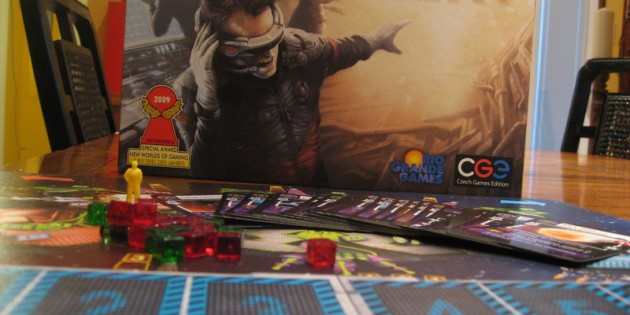 Space Alert Board Game Review