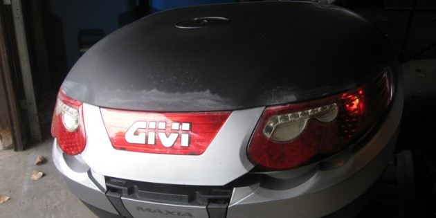 The Mysterious Disappearance of a Givi E55 Top Case Cover